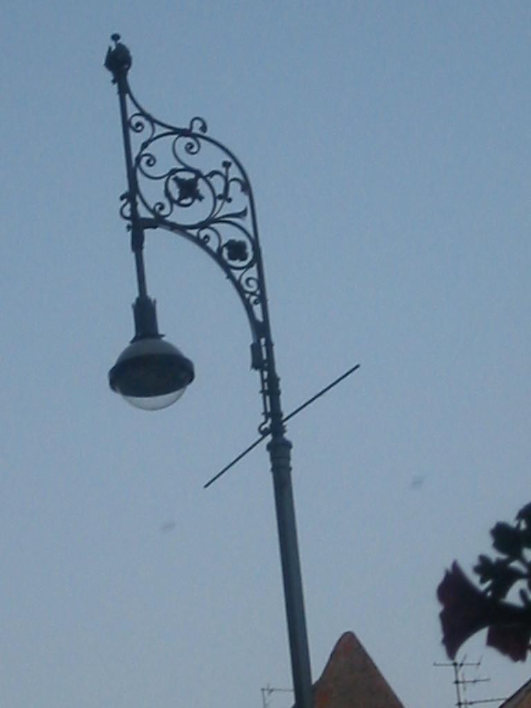Gaslaterne, latarnia gazowa