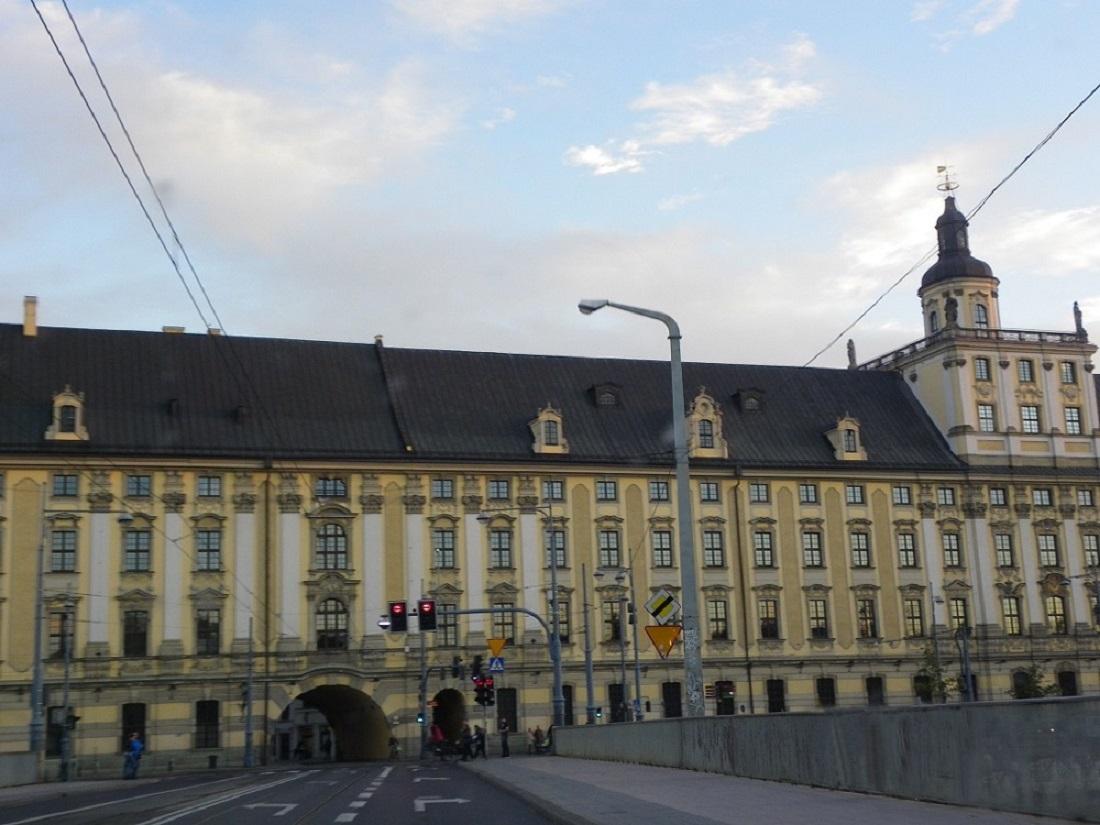 Universität, Uniwersytet Wrocław