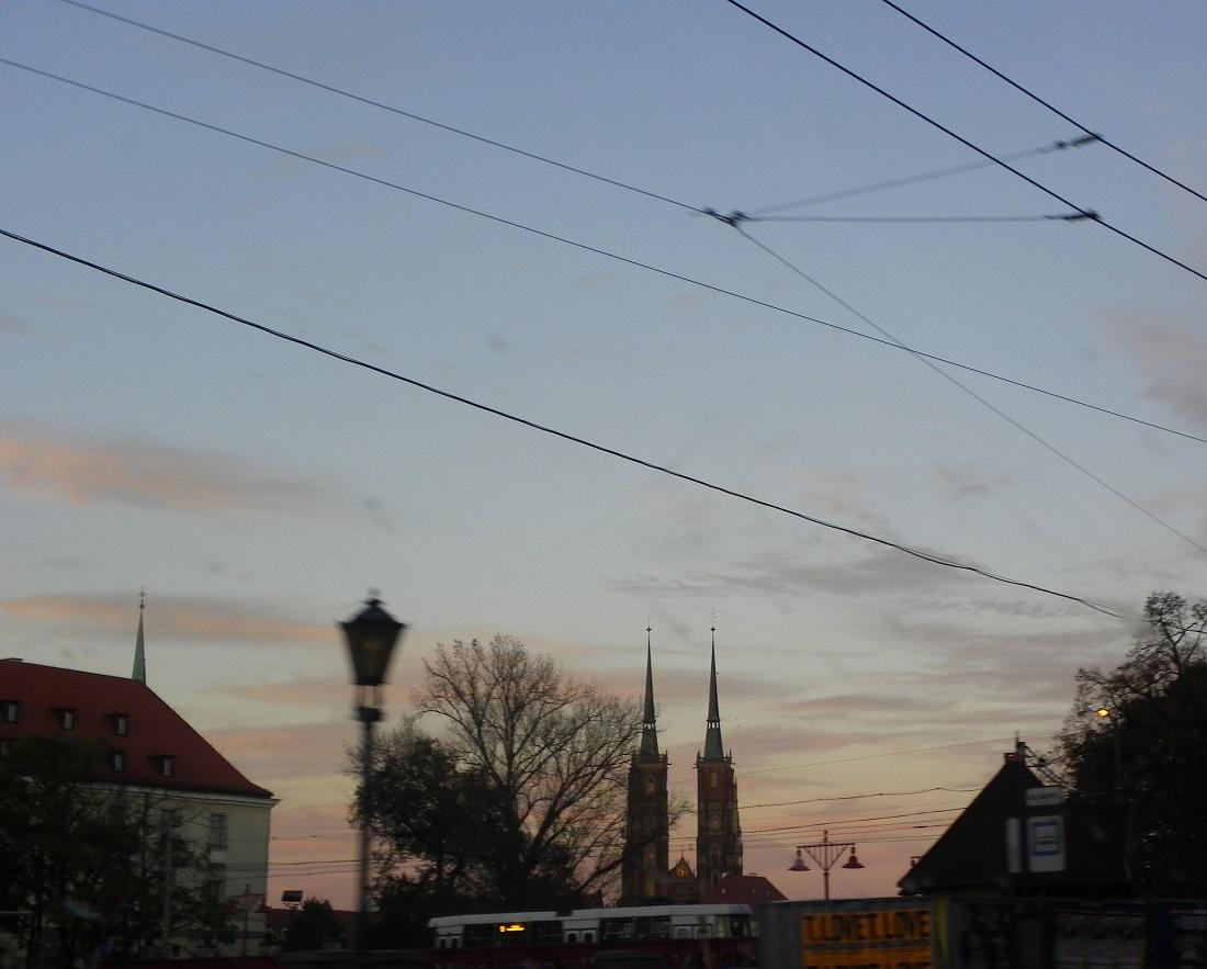 Breslauer Dom-die Kirchtürme Wieże katedry