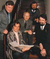 Wilanów Quartett mit Prof. Lutosławski