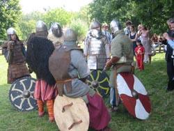 Im Lager der Krieger