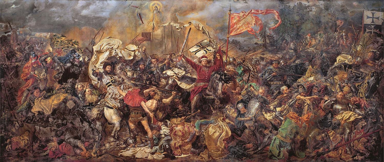 Jan Matejko - bitwa pod Grunwaldem, Muzeum Narodowe Warszawa