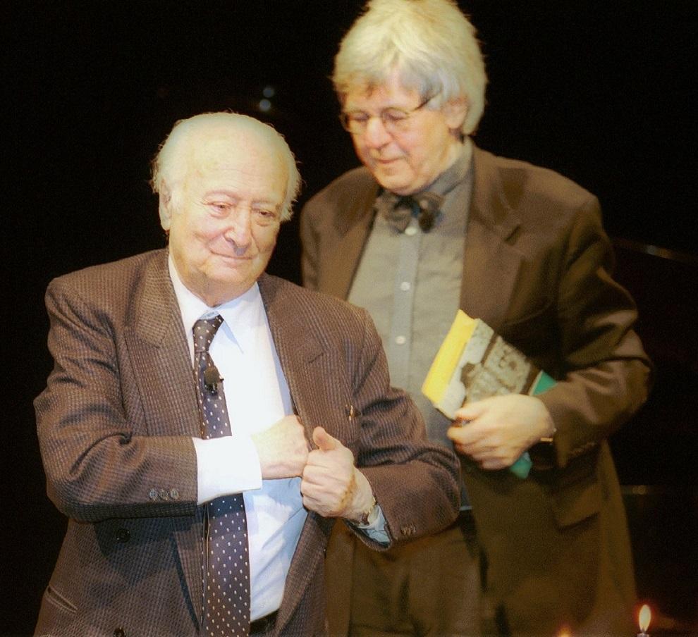 W. Szpilman mit  Prof. Rasinski