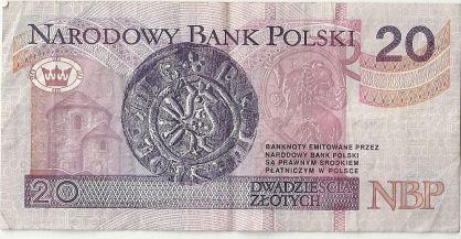 Banknoty, Polska (1994)