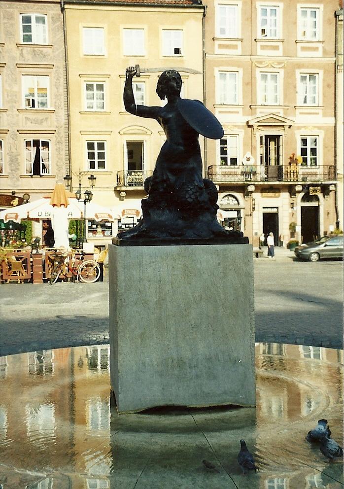 Die Warschauer Meerjungfrau, Syrenka warszawska