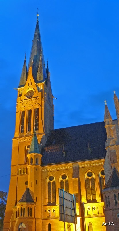 Kirche der Heiligen Maria, Kościół Marii Panny