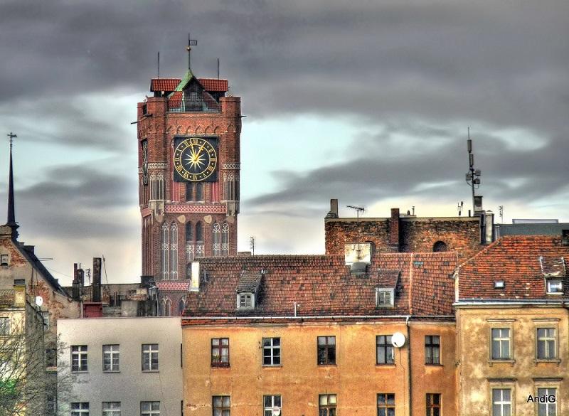 Rathausturm,Zegar na wieży Ratusza