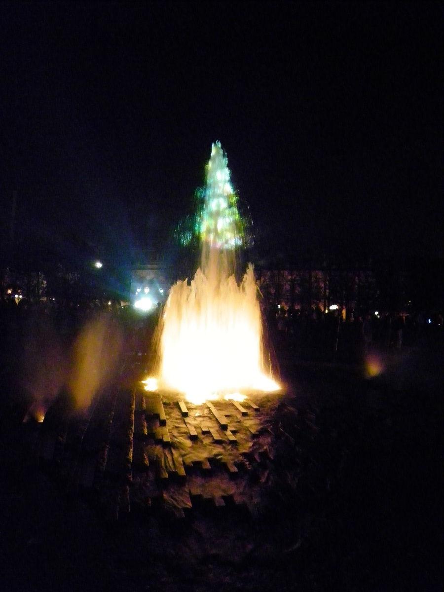 Springbrunnen im Lustgarten